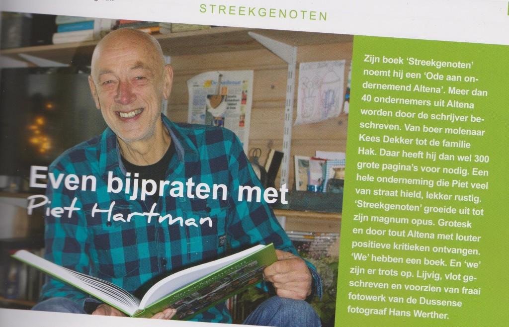 Paginagroot verhaal in Altena Business, december 2014, oplage 7000.