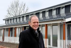 Ab van Toor. directeur Meander. bij het zonnepanelenproject in Eethen. Foto: Hans Roest